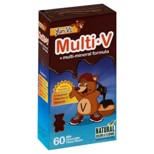 Yum V's Multi Vitamin Milk Chocolate Bear