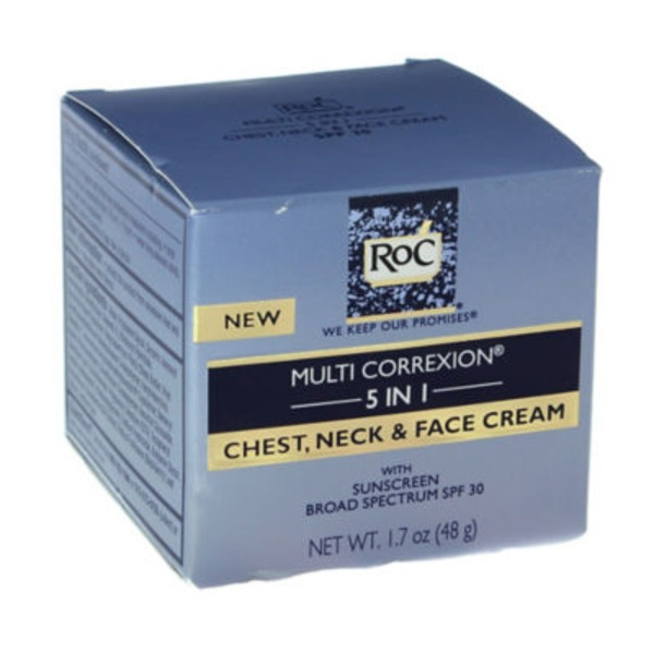 Roc® 5 in 1 Chest, Neck & Face Cream SPF30 MULTI CORREXION®