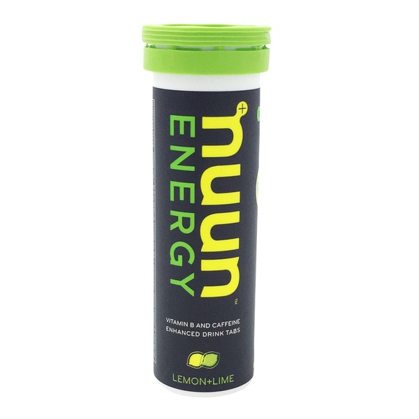 Nuun Drink Tabs, Vitamin B and Caffeine Enhanced, Lemon-Lime
