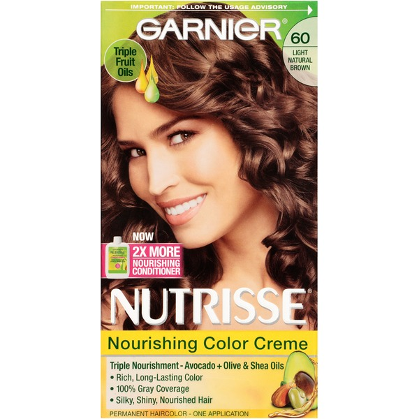 Nutrisse® 60 Light Natural Brown (Acorn) Nourishing Color Creme