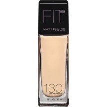 Maybelline Fit Me Dewy + Smooth Foundation, Buff Beige, 1 Fl Oz (Packaging May Vary)