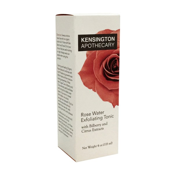 Whole Foods Kensington Apothecary Rose Water Exfoliating Tonic