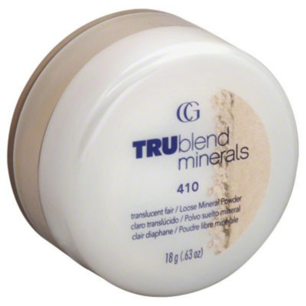 CoverGirl TruBlend Minerals COVERGIRL TRUblend Mineral Loose Powder Translucent Light .63 oz Female Cosmetics