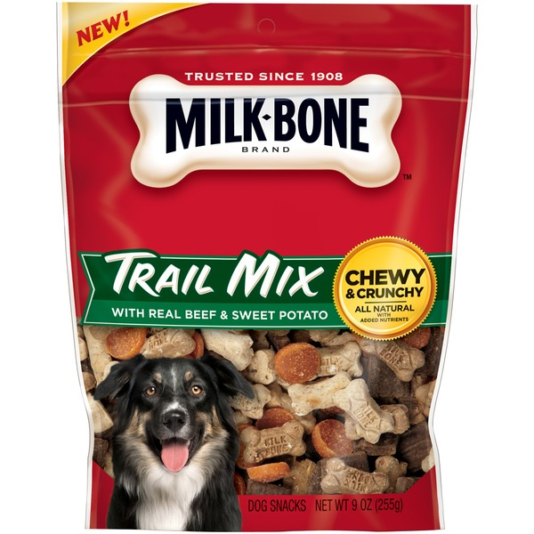 Milk-Bone Trail Mix Real Beef & Sweet Potato Dog Snacks