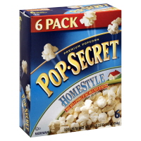 Pop Secret Microwave Popcorn Homestyle Premium - 6