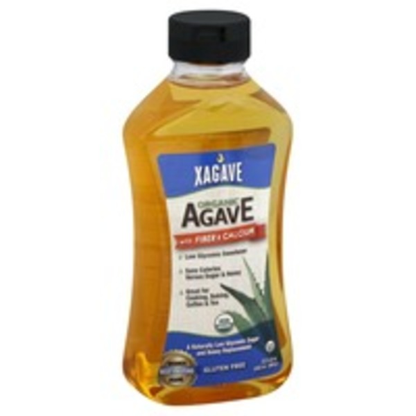 Xagave Organic Agave With Fiber And Calcium