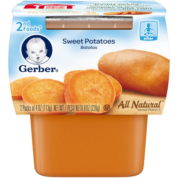 Gerber Sweet Potatoes 2nd Foods