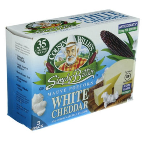 Cousin Willie's Simply Better White Cheddar