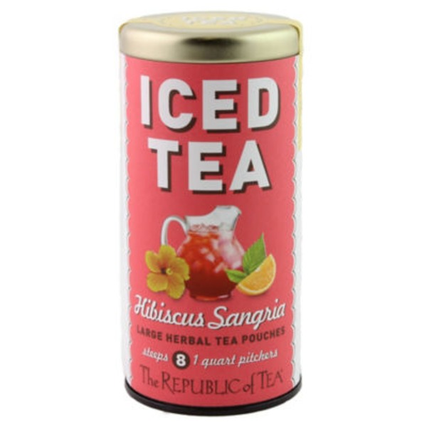 The Republic of Tea Hibiscus Sangria Iced Tea