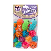 Hartz Just For Cats 13 Piece Variety Pack Cat Toy