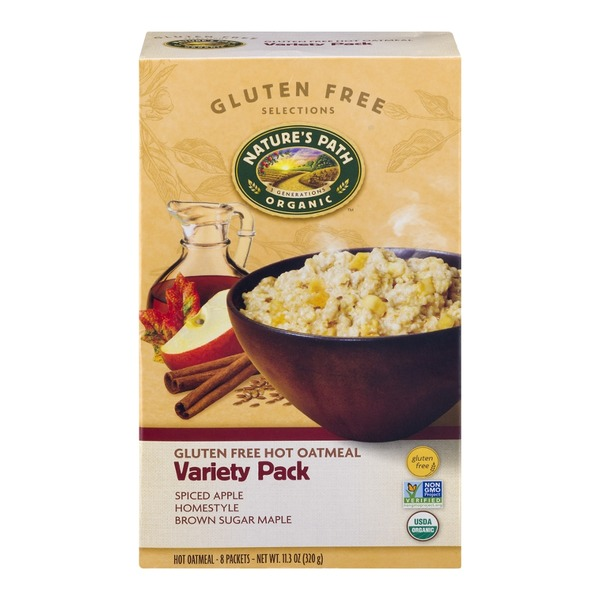 Nature's Path Nature's Path Organic Gluten Free Hot Oatmeal Variety Pack - 8 CT