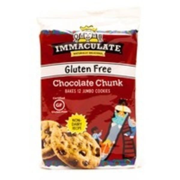 Immaculate Baking Co Gluten Free Chocolate Chunk Cookie Dough