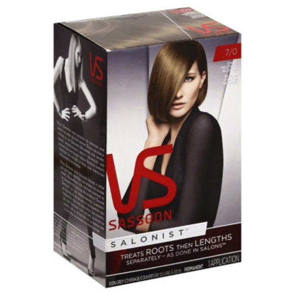 Vidal Sassoon Salonist Permanent 7/0 Dark Neutral Blonde Hair Colour