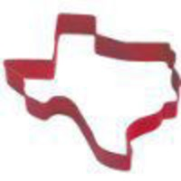 Cocinaware Cookie Cutter Large Red Texas Shape