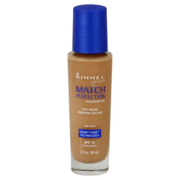 Rimmel Match Perfection Foundation - Sand 330
