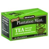 Bigelow Tea Bags Plantation Mint