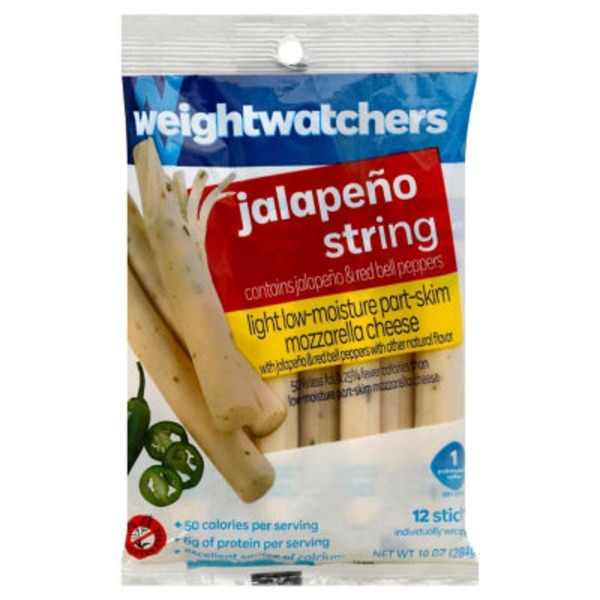 Weight Watchers String Light Jalapeno Cheese