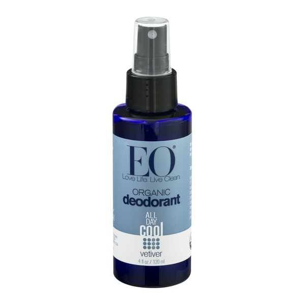 EO Organic All Day Cool Deodorant Vetiver
