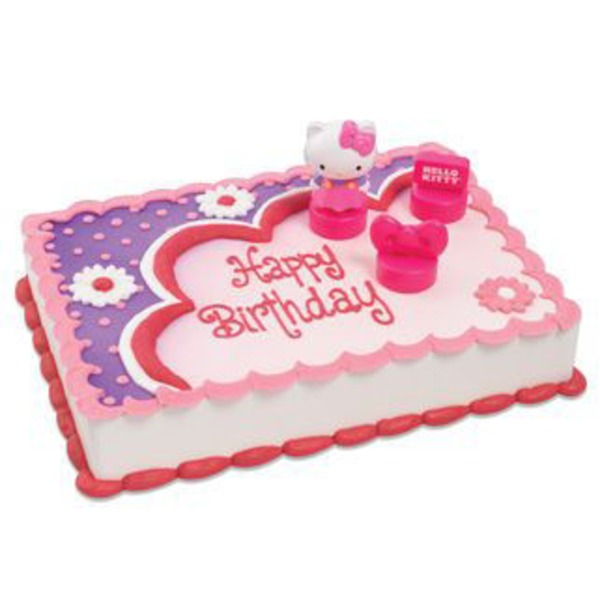 Hello Kitty Cake Cake, serves up to 96