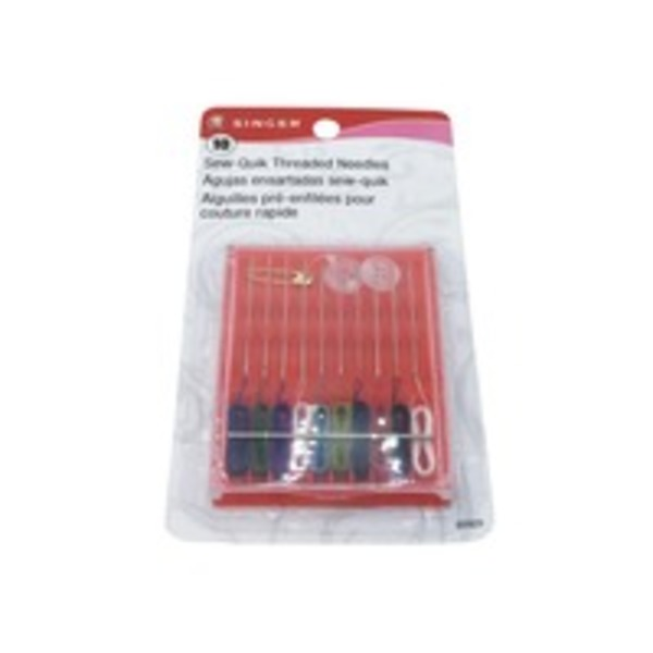 Singer Threaded Sew-Quik Needles