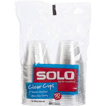 Solo Clear Cups
