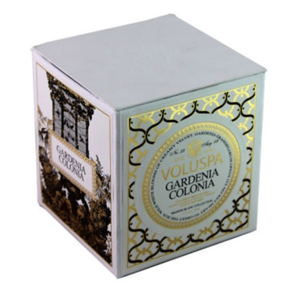 Voluspa Gardenia Colonia Natural Apricot & Coconut Wax Hand Poured Luxury Candle