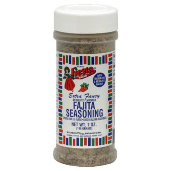 Fiesta Extra Fancy  Mesquite Flavored Fajita Seasoning