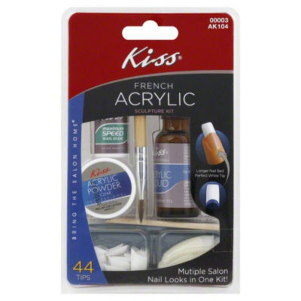 Kiss French Acrylic Sculpture Kit