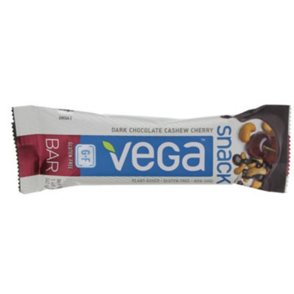 Vega Dark Chocolate Cashew Cherry Snack Bar