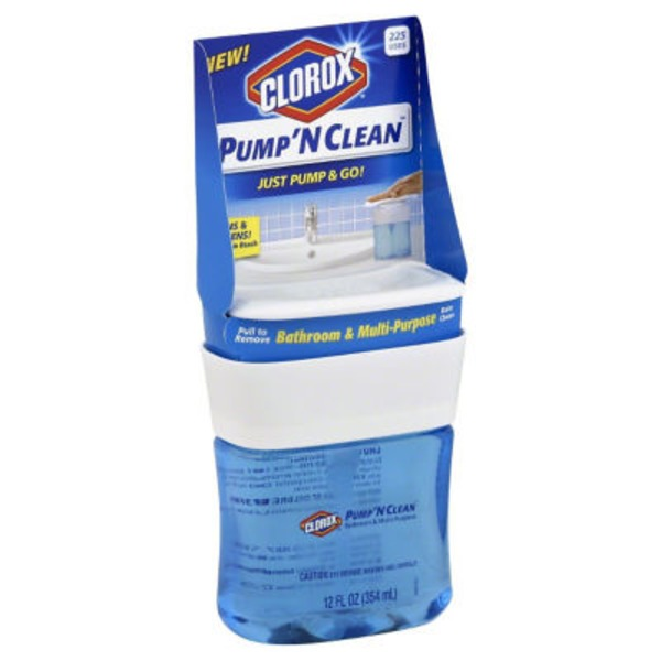 Clorox Pump 'N Clean Rain Clean Scent Multi-Purpose Bathroom Cleaner
