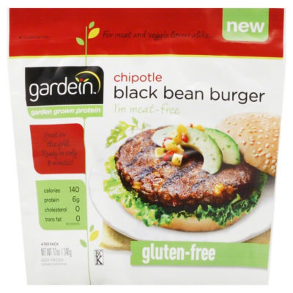 Gardein Chipotle Black Bean Burger