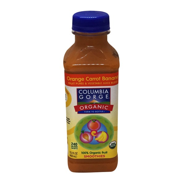 Columbia Gorge Organic Organic Orange Carrot Banana Smoothie