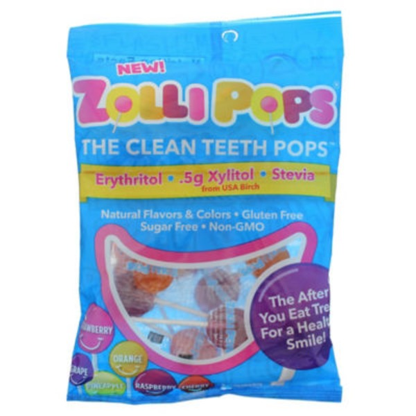 Zollipops Xylitol Pop Variety