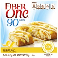 Fiber One 90 Calorie Lemon Baked Bars