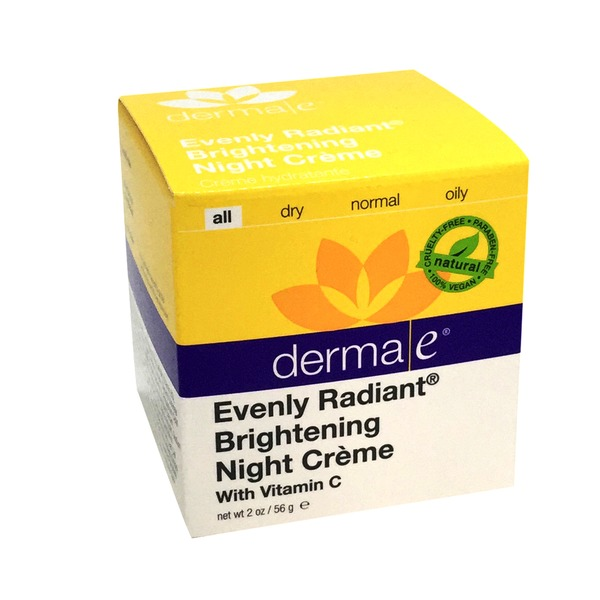 Derma E Evenly Radiant Brightening Night Creme With Vitamin C