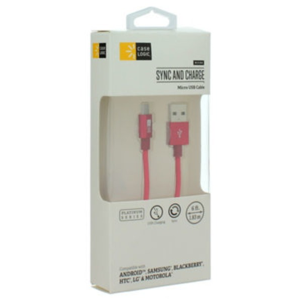Case Logic 6 Ft Micro Usb Cable