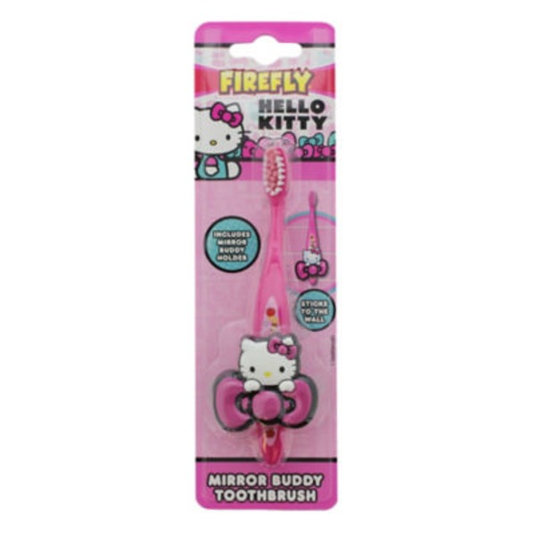 Firefly Hello Kitty Mirror Buddy Toothbrush