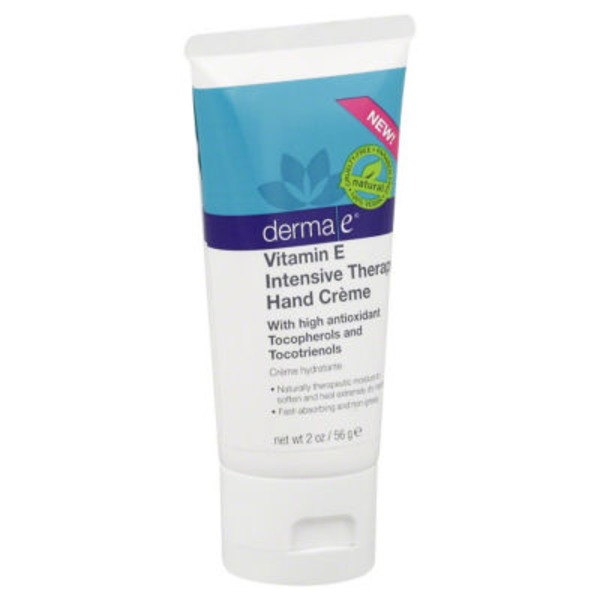 Derma E Hand Cream, Vitamin E Intensive Therapy, Tube