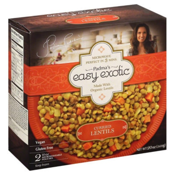 Padma's Easy Exotic Curried Lentils