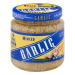 Spice World Garlic Minced, 8.0 OZ