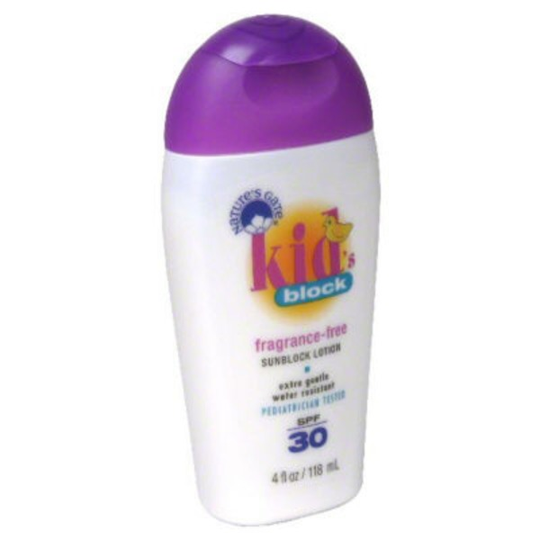 Nature's Gate Sunscreen Lotion, Kids, Broad Spectrum SPF 50
