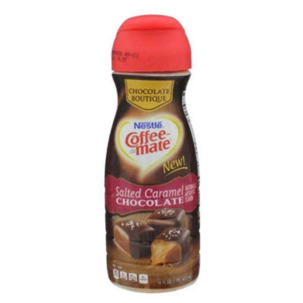 Nestlé Coffee Mate Salted Caramel Chocolate Liquid Coffee Creamer