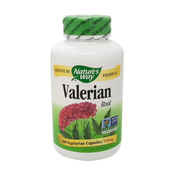 Nature's Way Valerian Root Capsules 530 mg