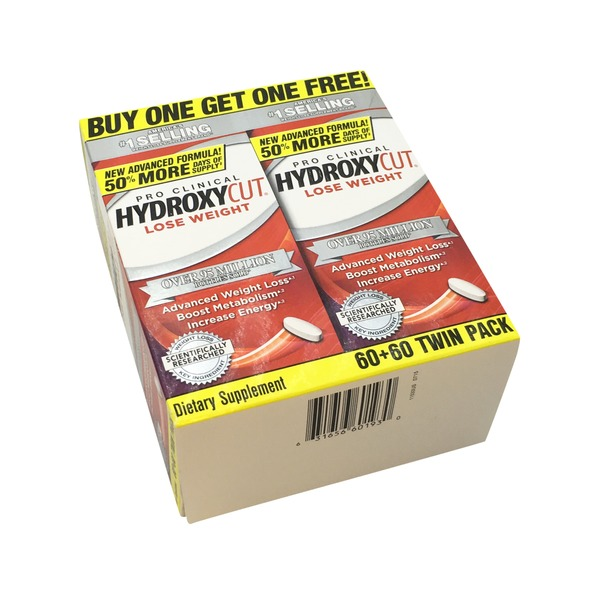 Hydroxycut Dietary Supplement Caplets for Weight Loss