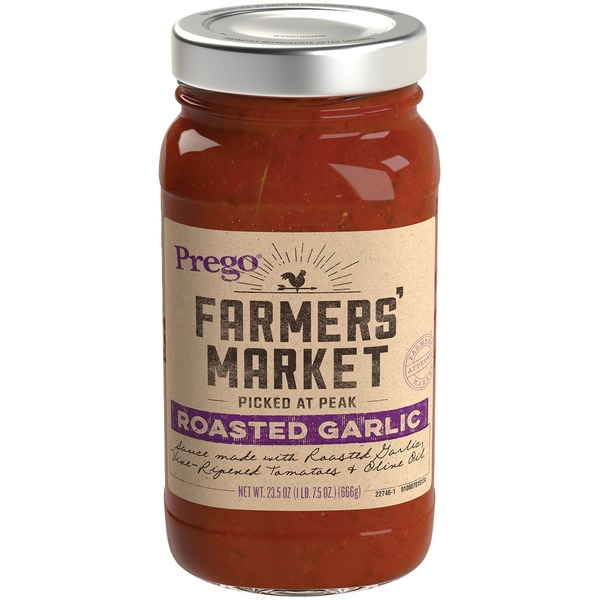 Prego Farmers' Market Roasted Garlic Sauce