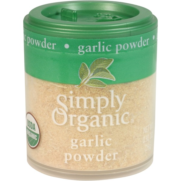 Simply Organic Certified Organic Garlic Powder