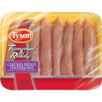Tyson Trimmed & Ready Premium Fresh Chicken Breast Tenderloins, 1.0-1.5 lbs.