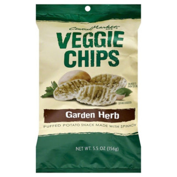 Central Market Garden Herb Veggie Chips