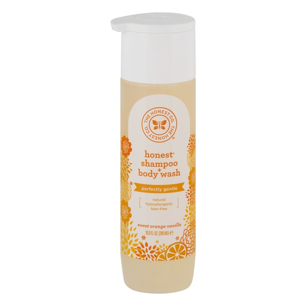 The Honest Company Honest Shampoo + Body Wash Sweet Orange Vanilla