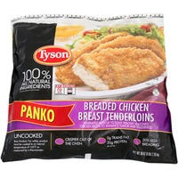 Tyson Panko Breaded Uncooked Chicken Breast Tenderloins